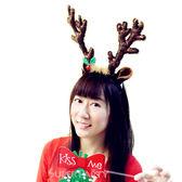 聖誕 裝扮 華麗髮箍1入-麋鹿