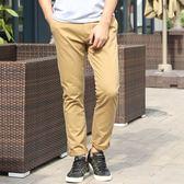 棉質休閒褲男褲長褲直筒寬鬆純色秋冬季男士修身歐美 阿薩布魯