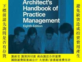 二手書博民逛書店Architect s罕見Handbook of Practic