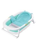 初生嬰兒洗澡盆新生兒可坐躺折疊便攜式寶寶浴盆 麥琪精品屋