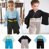 連身衣 日式 和服 造型服 男寶寶 爬服 哈衣 扮演服 派對 Augelute Baby 37303