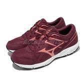 Mizuno 慢跑鞋 Spark 6 紅 白 美津濃 路跑 女鞋 入門款 運動鞋 【ACS】 K1GA2104-63