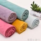 絨布布料加厚荷蘭絨天鵝絨沙發墊抱枕柜臺窗簾diy絲絨擺地攤布料 蘿莉新品