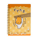 《Sanrio》蛋黃哥懶懶過生活系列B6線圈筆記本(格紋)★funbox生活用品★_UA48324