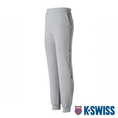 【超取】K-SWISS Flex-5Five Sweat Pants棉質運動長褲-男-灰