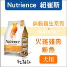 Nutrience紐崔斯〔無穀養生犬糧,火雞+雞+鯡魚,10kg,加拿大製〕