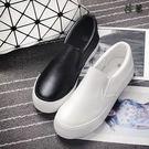 厚底懶人鞋 板鞋 帆布鞋 百搭女鞋樂福鞋 平跟休閑鞋【bc002】【現+預購】【莎芭】