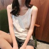 夏季韓版透氣內搭外穿顯瘦打底基礎款背心【聚物優品】