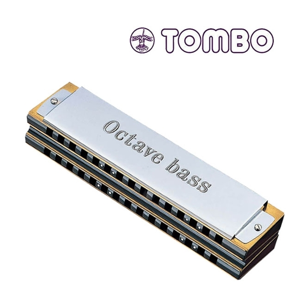 TOMBO NO-1142 重音低音口琴-合奏口琴/黃銅簧片/日本製