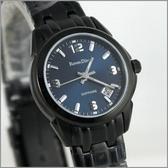 【萬年鐘錶】 Roven Dino 羅梵迪諾 楊丞琳代言 全黑藍女錶 RD632B