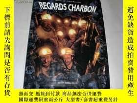 二手書博民逛書店網絡首現《REGARDS罕見CHARBON》外文書籍!硬精裝8開