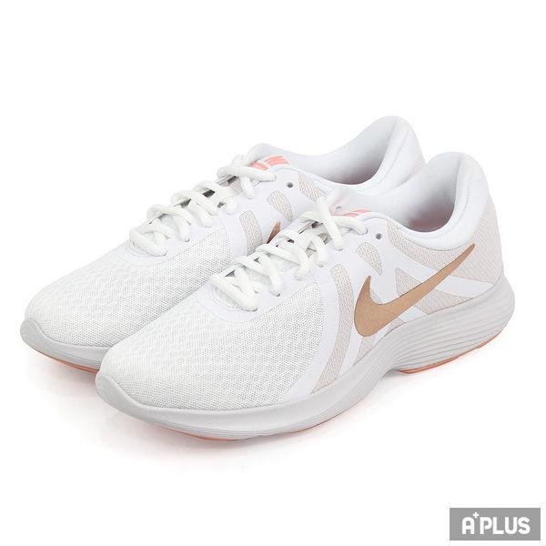 NIKE 女  WMNS NIKE REVOLUTION 4 慢跑鞋 - 908999102