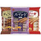 BOURBON 北日本 餅乾/威化餅/蛋捲/夾心餅(1包入) 多款可選【小三美日】
