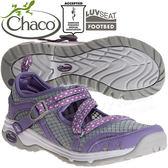Chaco ECW04_HC72基多紫 女冒險運動水陸鞋Outcross Evo MJ