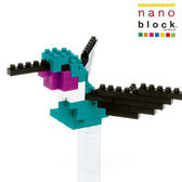 【日本KAWADA河田】Nanoblock迷你積木-蜂鳥 NBC-078