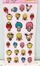 【震撼精品百貨】Hello Kitty 凱蒂貓~貼紙-綜合三麗鷗家族粉色#35677