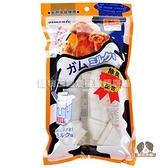 【寵物王國】日本Armonto-AMT-702MKB天然潔牙牛奶牛皮骨結【2入】
