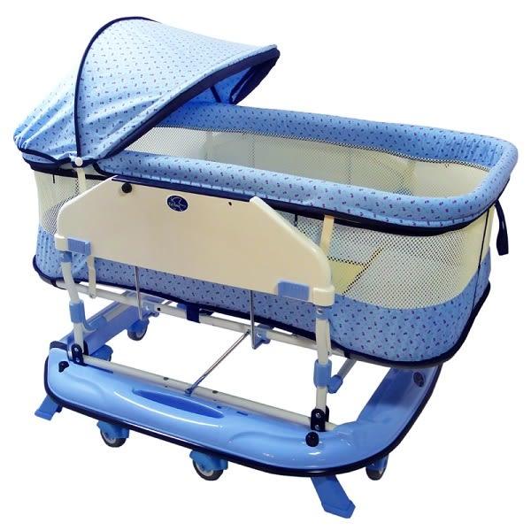 恩典搖床 水平搖床 兩色可選 嬰兒床【六甲媽咪】