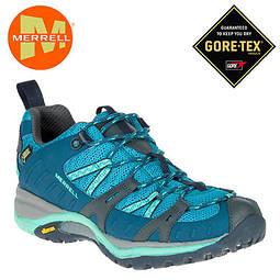 [好也戶外] Merrell SIREN SPORT GORE-TEX 女-寬楦防水透氣健行鞋-藍 No.ML35784(零碼7折)