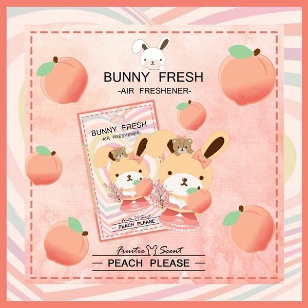 【邦妮兔】精油香氛片-歡樂桃