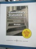 【書寶二手書T1/大學商學_YHJ】Elementary Statistics : A Step by Step…