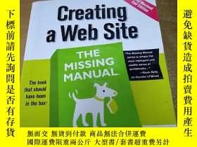二手書博民逛書店Creating罕見a Web Site: The Missin