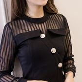長袖洋裝306#秋冬魚尾性感連身裙 GDS6F-621-B朵維思