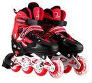 食尚玩家 3-5-6-7-8-10-12歲小孩溜冰鞋兒童男女全套裝閃光輪滑冰鞋旱冰鞋