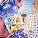 PGS7 富士 拍立得 - 日系卡通 海賊王 系列 盒裝加厚邊框 貼紙 裝飾 Mini 空白 底片 航海王【SHT5183】