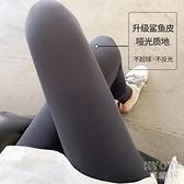 鯊魚皮打底褲女外穿薄款春秋季緊身收腹瘦腿無痕芭比壓力瑜伽褲子 快速出貨