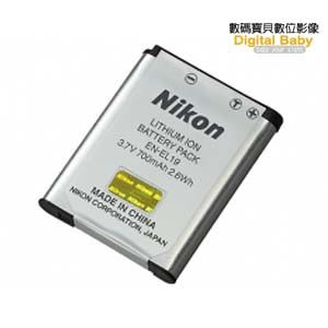 Nikon EN-EL19 原廠電池 盒裝 (ENEL19,COOLPIX A100/W100/S33/S2500/S3100..鋰電池,國祥公司貨)