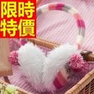 耳罩真獺兔毛率性-流行韓風絨毛溫暖女耳罩1色63y20【巴黎精品】