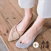 5雙 船襪女純棉春夏季薄款淺口襪子女防滑不掉跟隱形【君來佳選】