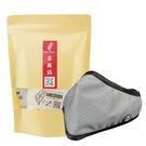 PYX 品業興 S版輕巧型口罩 -科技灰+茶圖誌茶包組