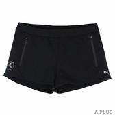 PUMA 女 法拉利經典系列棉短褲(F) 棉質運動短褲- 57375501