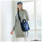 【橘子包包館】STAYREAL SR本色帆布袋(小) BS18010 深藍
