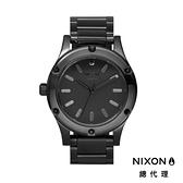 【官方旗艦店】NIXON CAMDEN 時尚經典 亮黑 潮人裝備 潮人態度 禮物首選