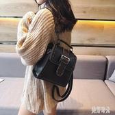 復古韓版定型雙肩包英倫風2019新款迷小包時尚百搭多用包包女三用包潮TT175『美好時光』