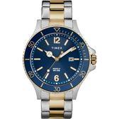 TIMEX 天美時 經典潛水 冷光手錶 (TXTW2R64700 藍)42mm