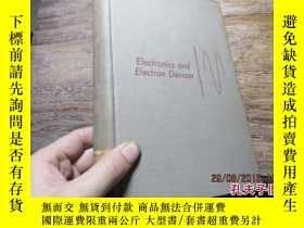 二手書博民逛書店electronics罕見and electron device
