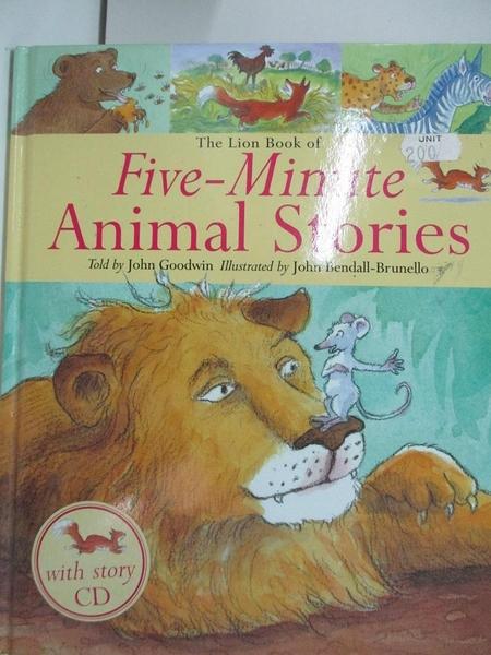 【書寶二手書T1/原文小說_DPV】The Lion Book of Five-Minute Animal Stories_Goodwin