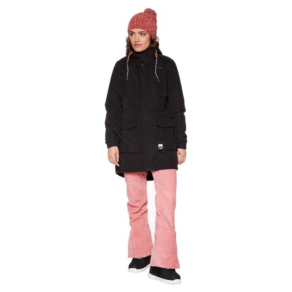 PROTEST 女 機能防水保暖外套 (真實黑) COMPLETE SNOWJACKET