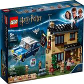 樂高積木 LEGO 《 LT75968 》Harry Potter 哈利波特系列 - 4 Privet Drive / JOYBUS玩具百貨