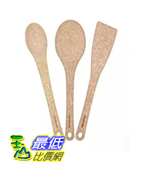 [美國直購] Epicurean B01BKWYJ3U 鍋鏟瓢三件裝 Kitchen Series 3-piece Utensil Set, Natural