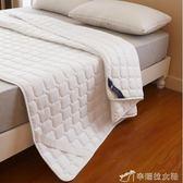 保潔墊 綁帶防滑單雙人薄床墊床褥子保護墊保潔墊軟被褥涼墊榻榻米墊YXS辛瑞拉