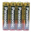 【奇奇文具】【國際牌PANAOSNIC】4號 AAA 鹼性電池 收縮膜 (10封入)