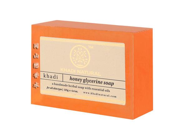 岡山戀香水~印度 Khadi 草本蜂蜜手工精油香皂125g~優惠價:65元