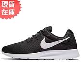 【現貨】NIKE TANJUN 男鞋 慢跑 休閒 輕量 透氣 網布 黑【運動世界】812654-011