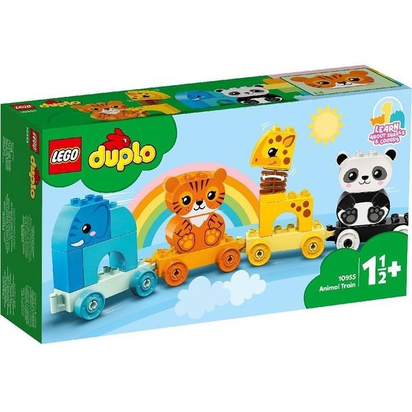 樂高積木 LEGO《 LT10955》Duplo 得寶系列 - 動物火車 / JOYBUS玩具百貨