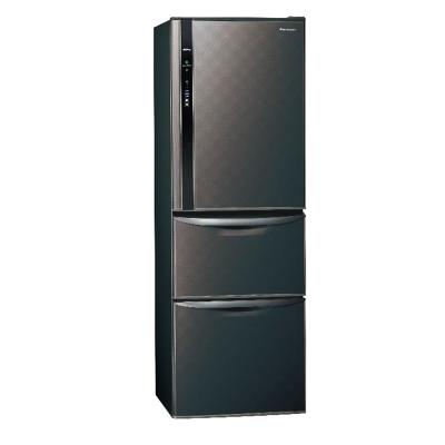 Panasonic 國際牌 三門ECONAVI冰箱 NR-C389HV 星空黑 385公升